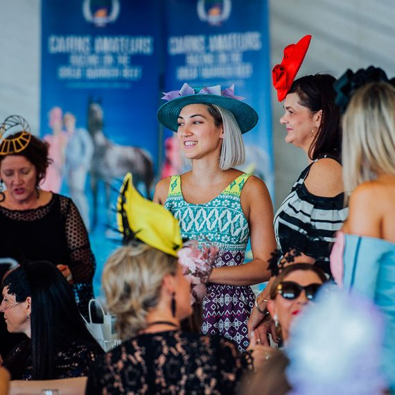 Cairns Amateurs Racing Carnival - Ladies Fashion High Tea at the Cairns Esplanade